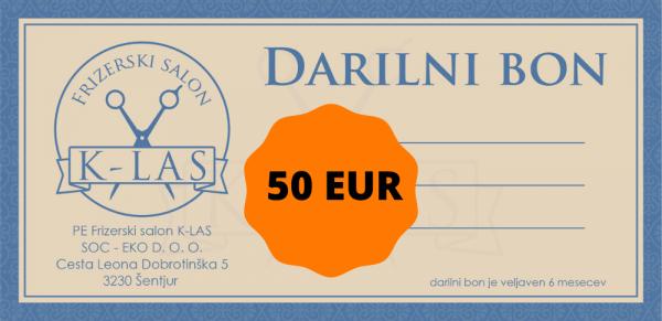 soceko bon 50 EUR